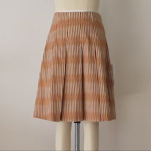 Marni graphic pleated skirt